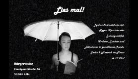 """Flyer """"Lies mal!"""""""